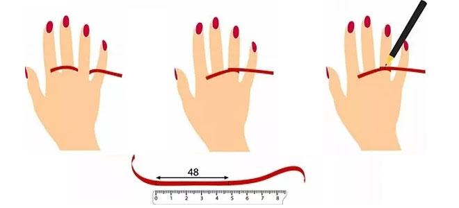 yüzük ölçüsü ve parmak ölçüsü nasıl alınır?
