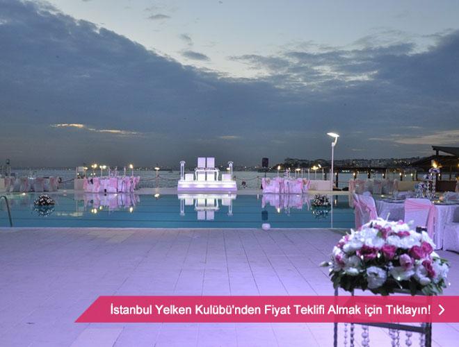 istanbul yelken - istanbul'un deniz manzaralı düğün mekanları