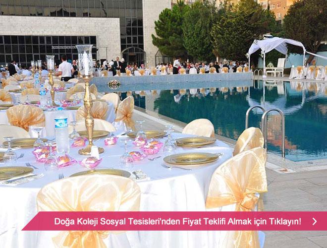 doga - İstanbul'un havuzbaşı düğün mekanları