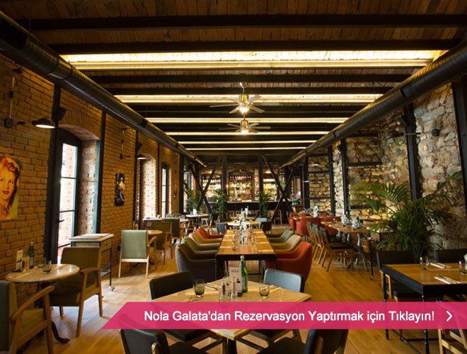 Galata'da restaurant.