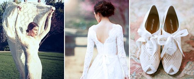 1_ece_sukan_glnlk - Moda yazarı Ece sükan ve yılın modasına uygun dantel gelinliği