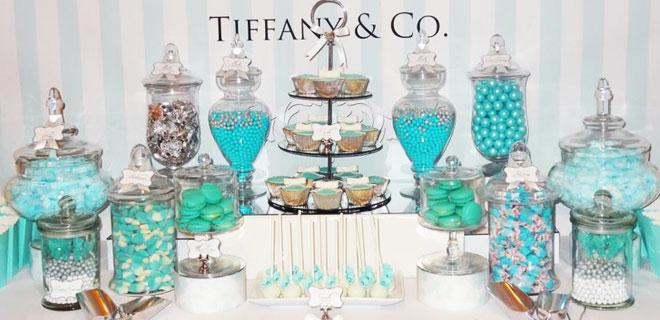 1_tiffany_co - Düğünler için şeker büfesi alternatifleri