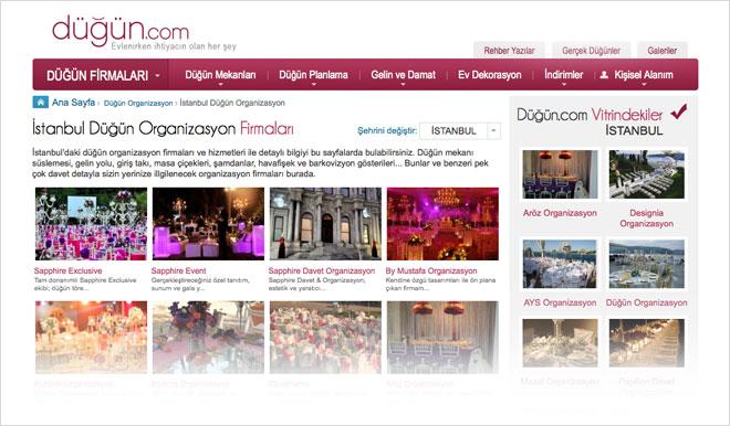 dugun.com düğün organizasyon firmaları