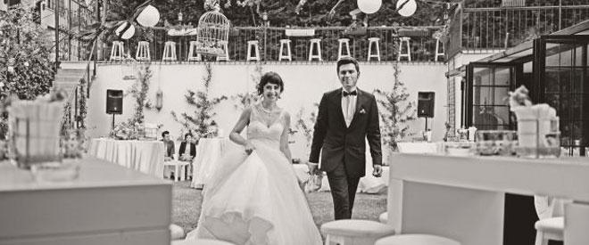 düğün mekanı ve gelin damat