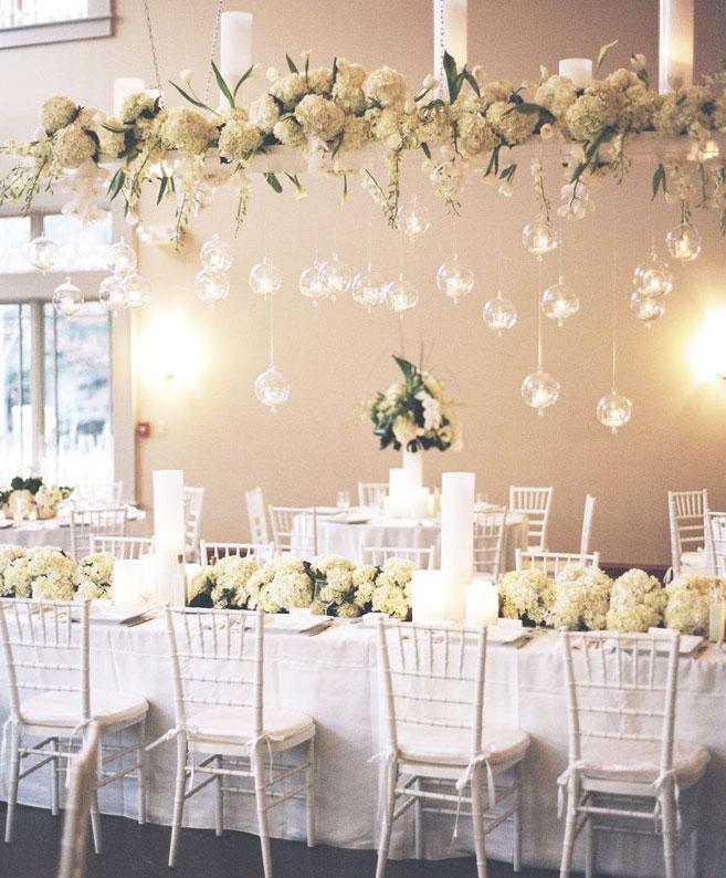2014 düğün organizasyon detaylarında öne çıkan canlı çiçek aranjmanları