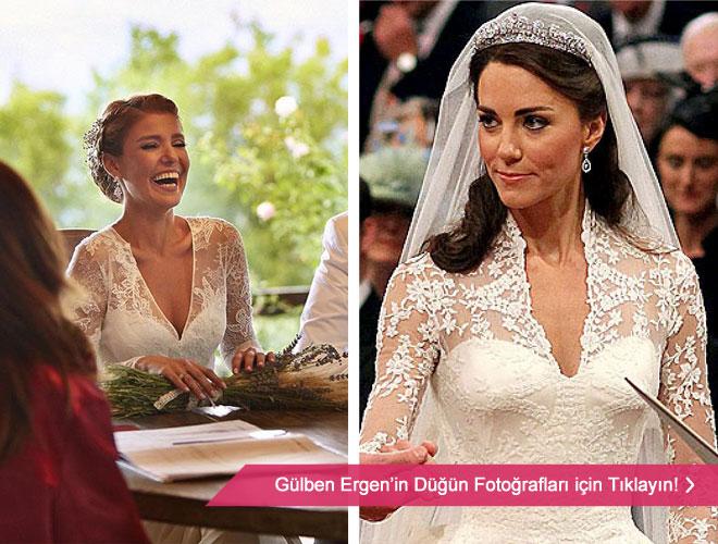 en_tanidik_gelinlik - Cambridge Düşesi Kate Middeleton ve Gülben Ergen'in gelinliği ve düğün fotoğrafları