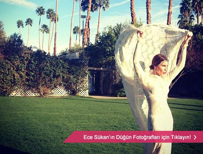 en_vintage_gelinlik - Ece Sükan'ın düğün fotoğrafları