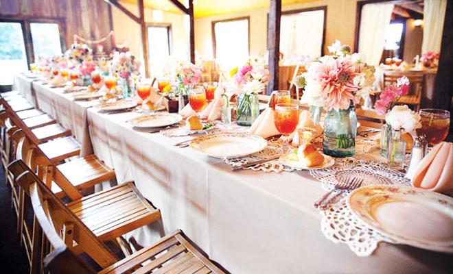 2014 düğün organizasyonlarında masa düzeni örneği