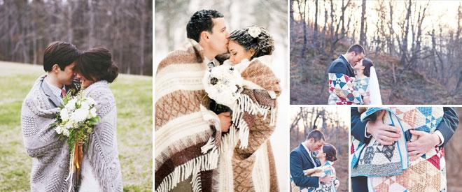 2kis_dugun_battaniye -  kış düğünü fotoğrafları örnek pozlar