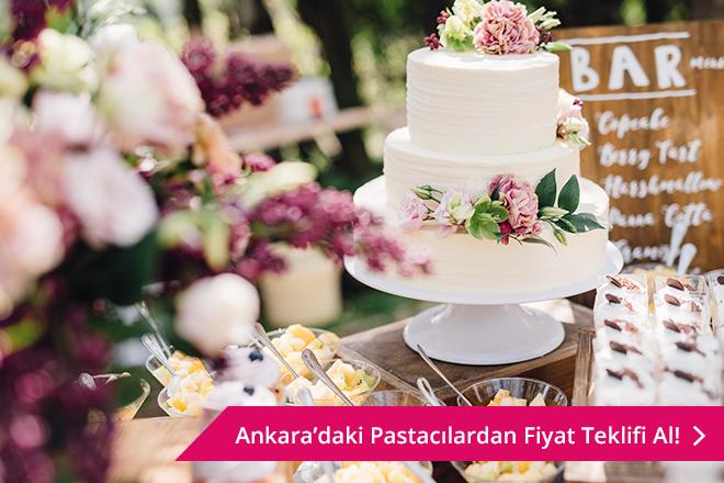 Ankara düğün pastası
