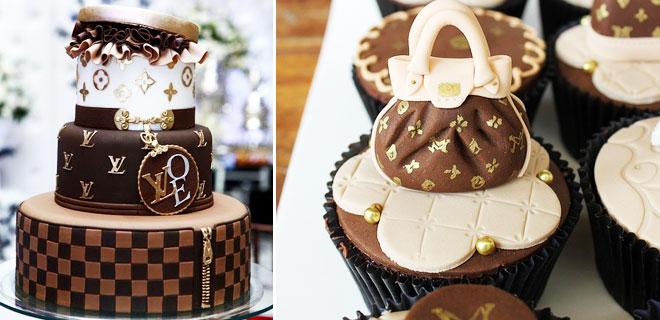 3_louis_canta - Gelin adaylarının bayılacağı Louis Vuitton pasta modelleri