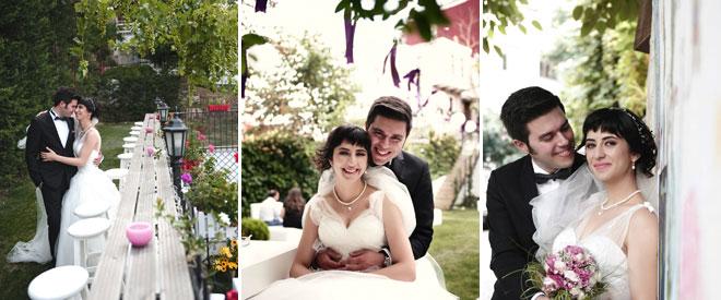 düğün mekanında düğün fotoğraf pozları