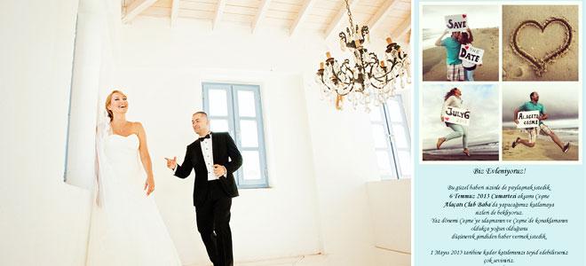 4_irem_rsn - Romantik mekanlarda düğün fotoğrafları, orijinal davetiye örneği