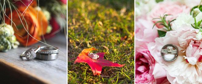 4dis_cekim_alyans - çiçekler içine yerleştirilmiş alyans fotoğrafları