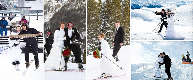 4kis_dugun_kayak - kış düğünü kayak konseptli fotoğraf