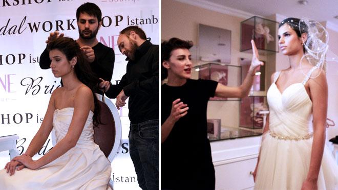 22 - Ferit Belli'den 2014 saç tasarım önerileri )ve gelin hazırlıkları