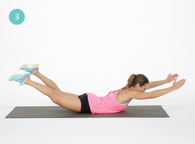 21 günde popo kaldırmaya yardımcı pilates hareketleri