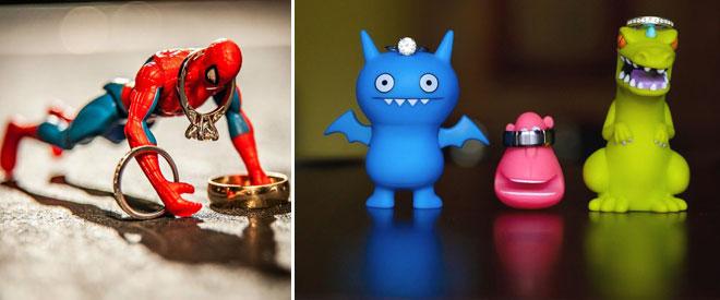 5oyuncaklar_ve_alyans - komik objelerle çekilmiş alyans fotoğrafları