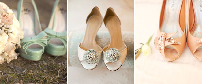 5sade_gelinlik_ayakkabilari - pastel renklerde gelin ayakkabısı