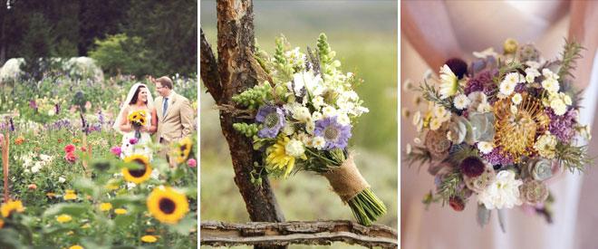 6ciftlik_dugun_buketi - çiftlik düğünlerinde kır çiçeklerinden gelin buketleri