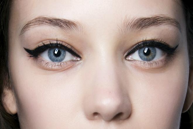 yuvarlak yüze eyeliner
