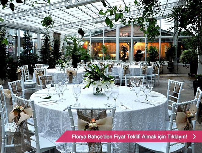 Florya Bahçe'de düğün