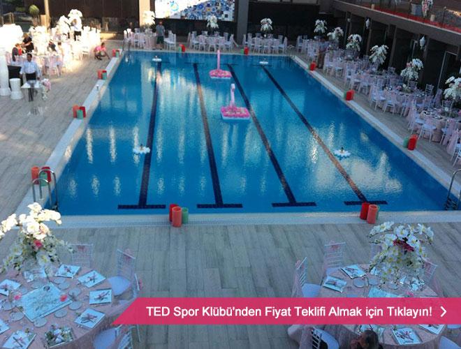 TED Spor Klübü düğün