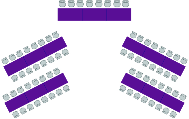 acili_yerlesim_tipi - düğün davetlerinde 10 farklı oturma düzeni