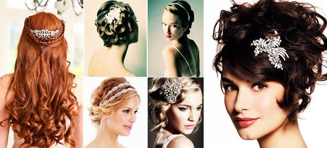 aksesuar - 2013 yılının gelin saçı modası