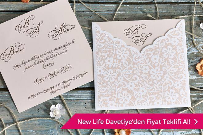 New Life Davetiye