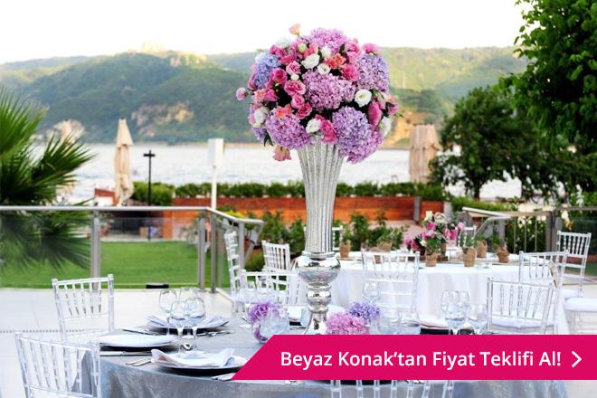 istanbul'da 100-200 kişilik düğün mekanları