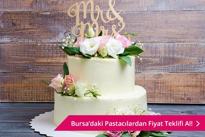 Bursa düğün pastası