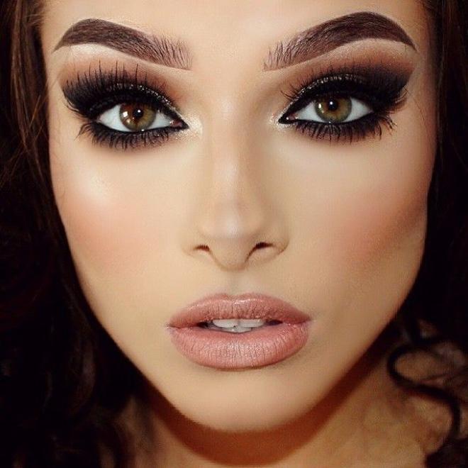 Wedding Guest Makeup Blue Eyes : Gelinler icin Ba?ar?s? Kan?tlanm?? Makyaj Stilleri