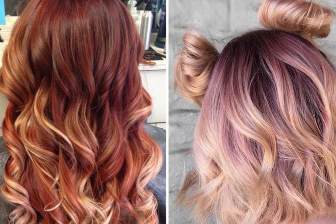 ombrenin geldiği son nokta: eriyen saç renkleri