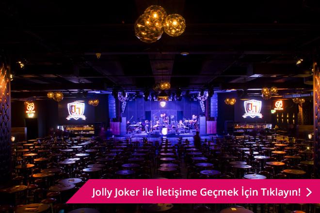 konser tadında bir düğün için jolly joker vadistanbul