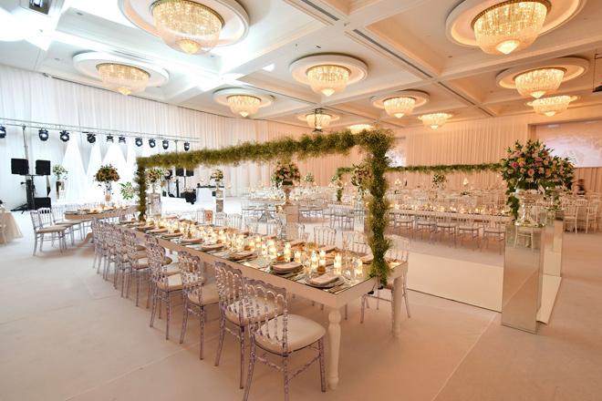 şık bir otelde düğün yapmanın asaleti de bir başka: crowne plaza istanbul asia