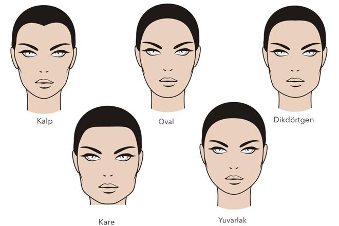 kına için saç modelleri