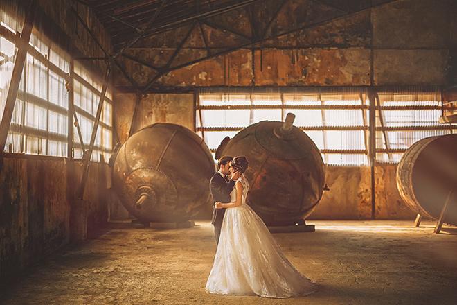 Beykoz Kundura Fabrikası düğün fotoğrafı
