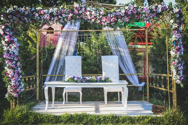filmlere sahne olmuş bir kır düğünü mekanı: kirazlı bahçe
