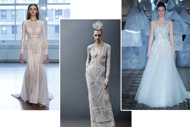 13 maddede 2019 gelinlik modası