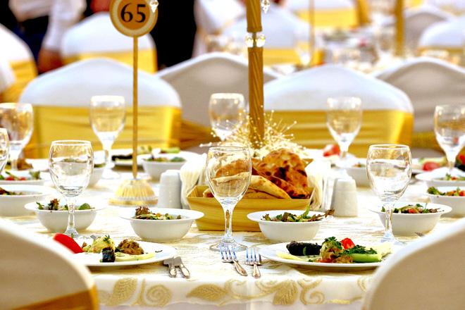 bursa'da saray gibi bir düğün mekanı: taçmahal