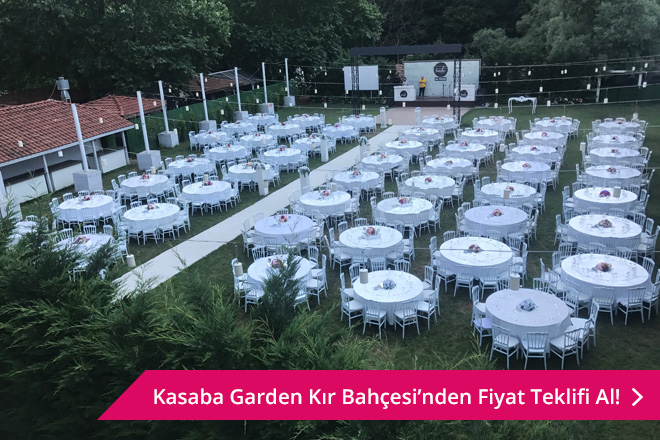 Kasaba Garden Kır Bahçesi