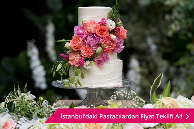 İstanbul düğün pastası