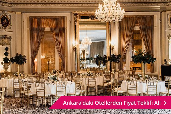 Ankara otel düğünü