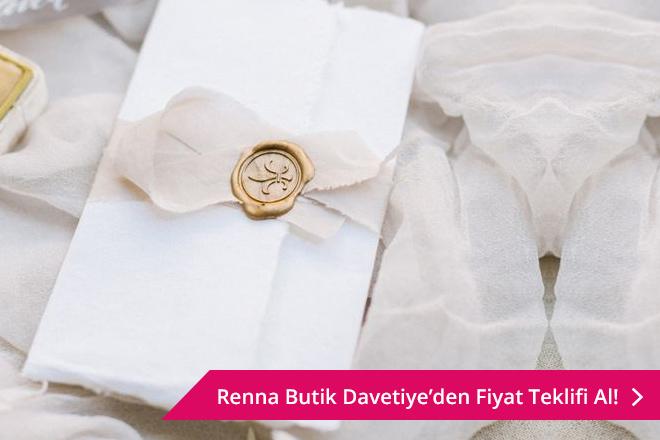 Renna Butik Davetiye