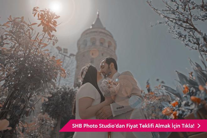 Galata Kulesi düğün fotoğrafı