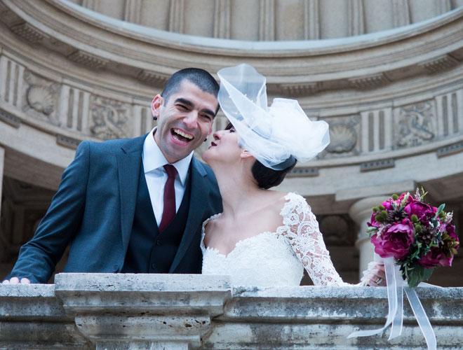 5 - Sevgilimin damatlığını Roma'ya uçmadan önceki gün aldık.