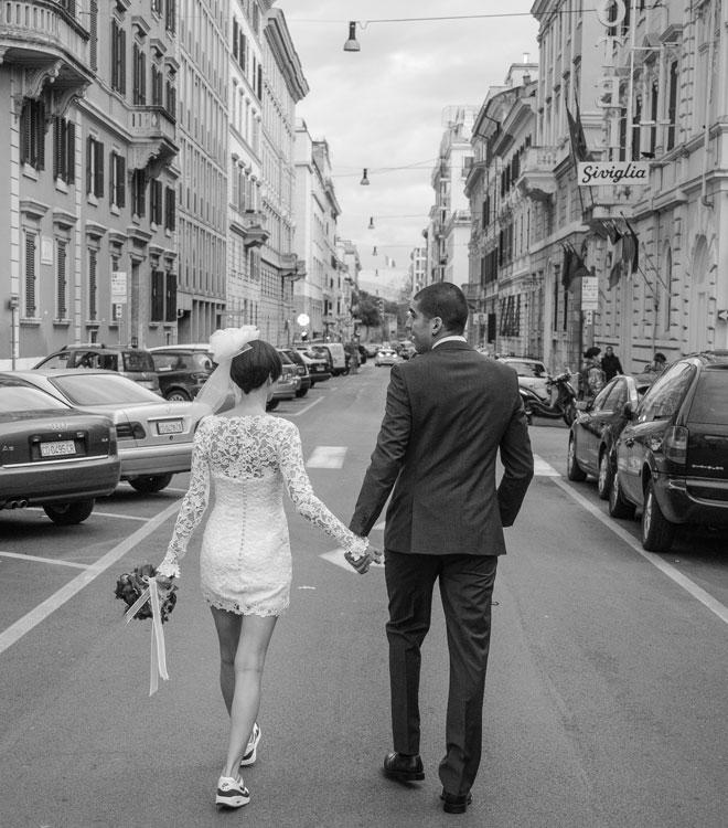 8 - Roma'da evlendik