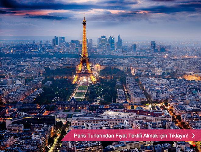 Işıkların ve tabii ki aşkın kenti Paris