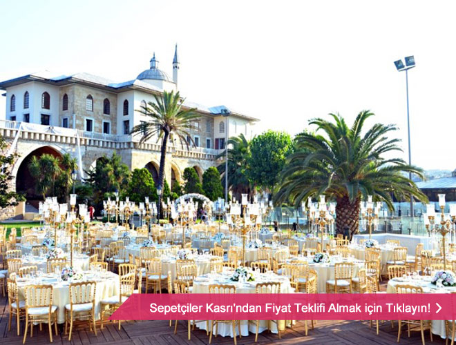 Açık hava düğün mekanları İstanbul Avrupa yakası
